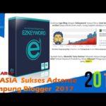 EZ Keyword – RAHASIA  Sukses Adsense Kampung Blogger  2017
